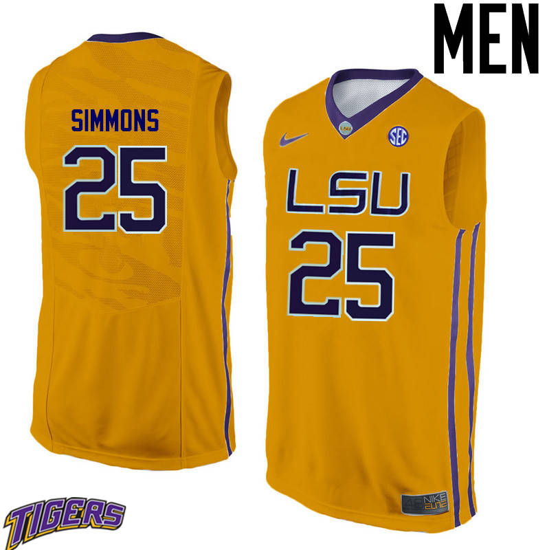 0bca2d293091 Cheap LSU Tigers Ben Simmons College Basketball Jerseys Sale Free ...